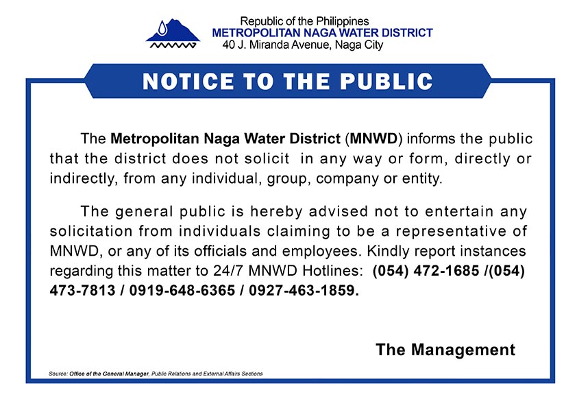 Notice-to-the-public